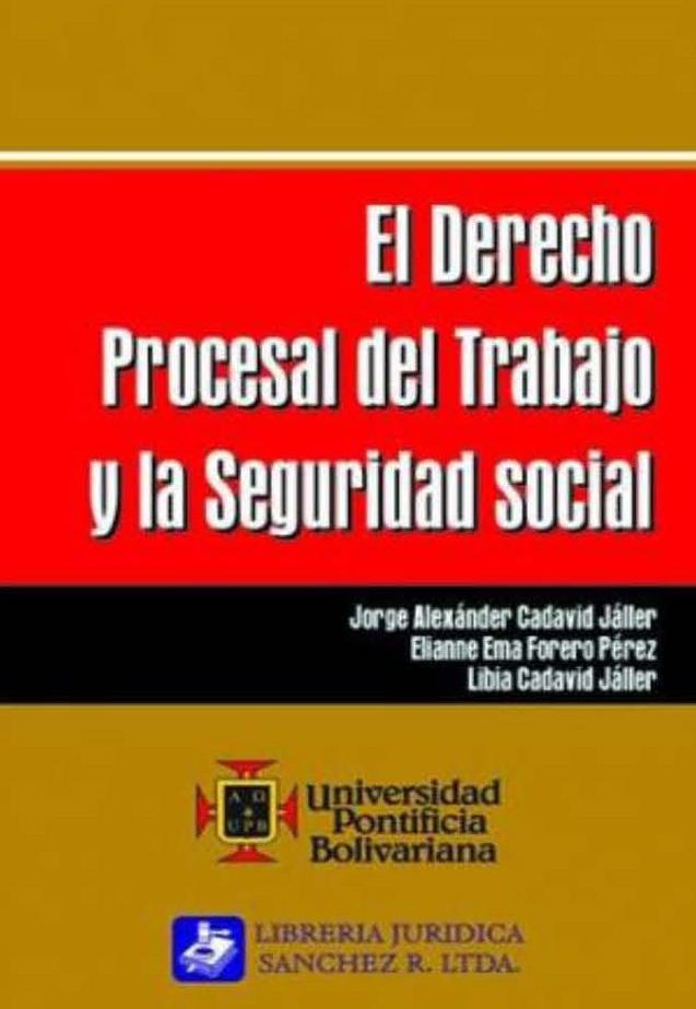 Derecho procesal del..